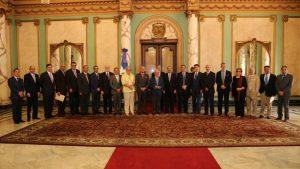 Visita Don Rafael Ansón la Presidente de la República