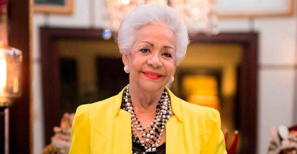Esperanza Lithgow, reconocida chef dominicana.