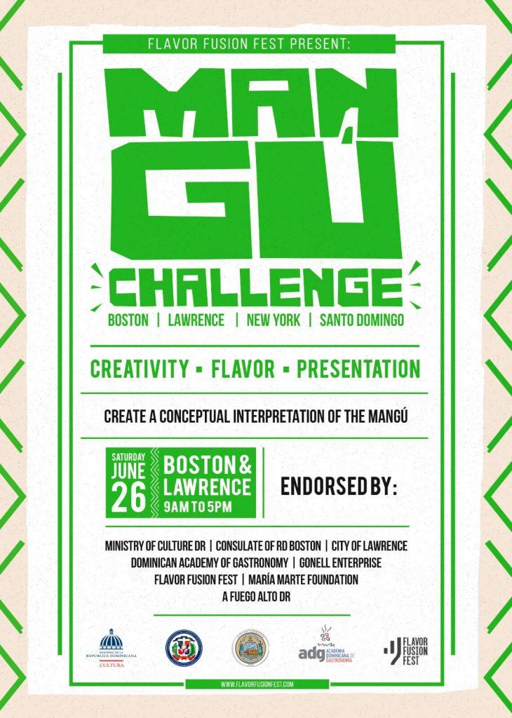Afiche MANGU CHALLENGE