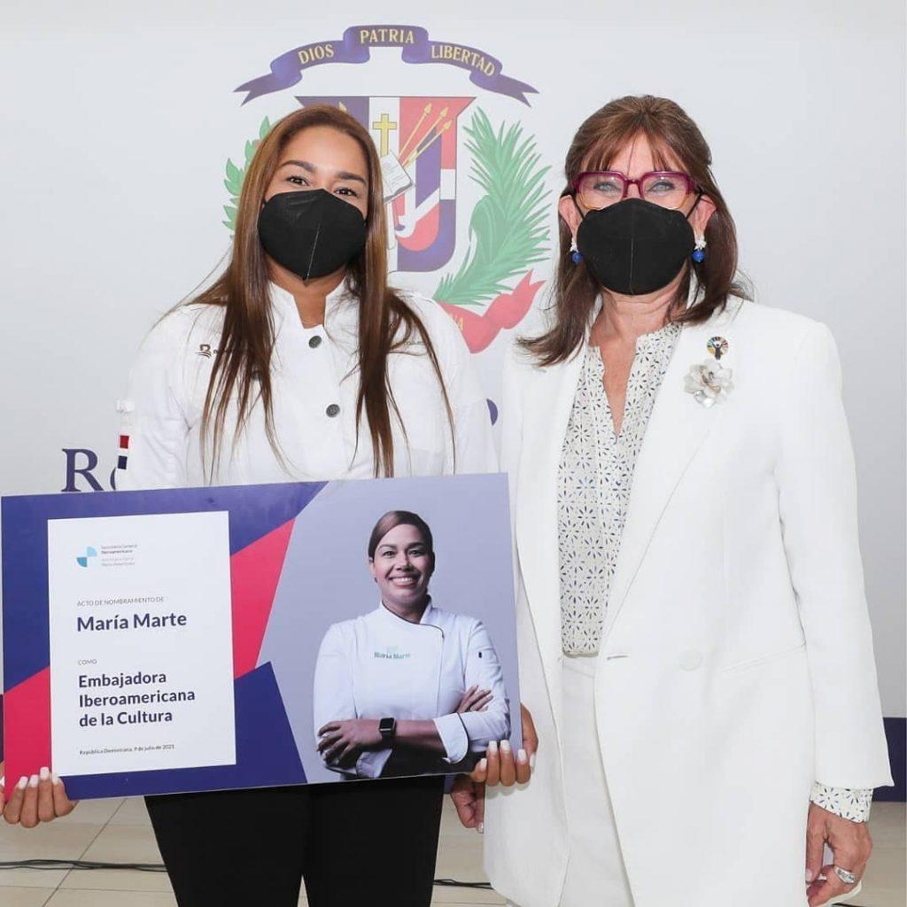 Maria Marte es nombrada embajadora cultural iberoamericana por la SEGIB